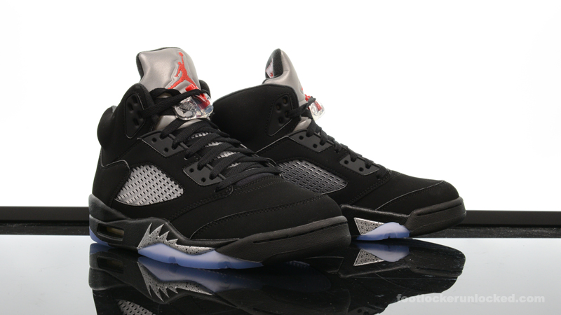 best website 30bc9 82320 Foot-Locker-Air-Jordan-5-Retro-OG-Black-