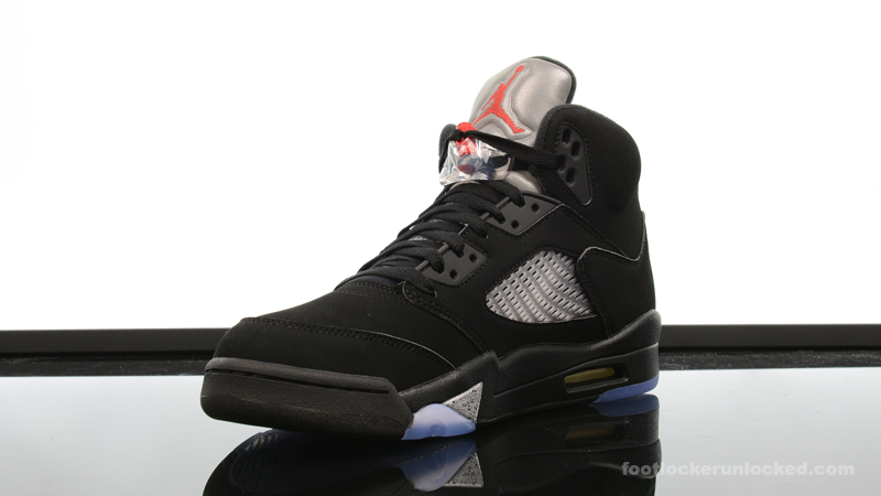 cheap for discount 4b4f3 de275 Air Jordan 5 Retro OG Black/Metallic Silver – Foot Locker Blog