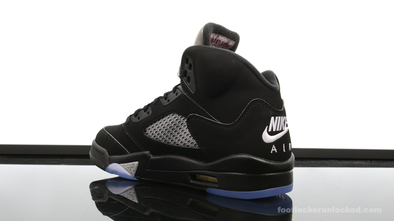 cheap for discount 33e21 e287a Air Jordan 5 Retro OG Black/Metallic Silver – Foot Locker Blog