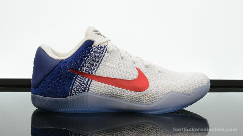 """Nike Kobe XI """"Red, White \u0026 Blue"""" – Foot"""