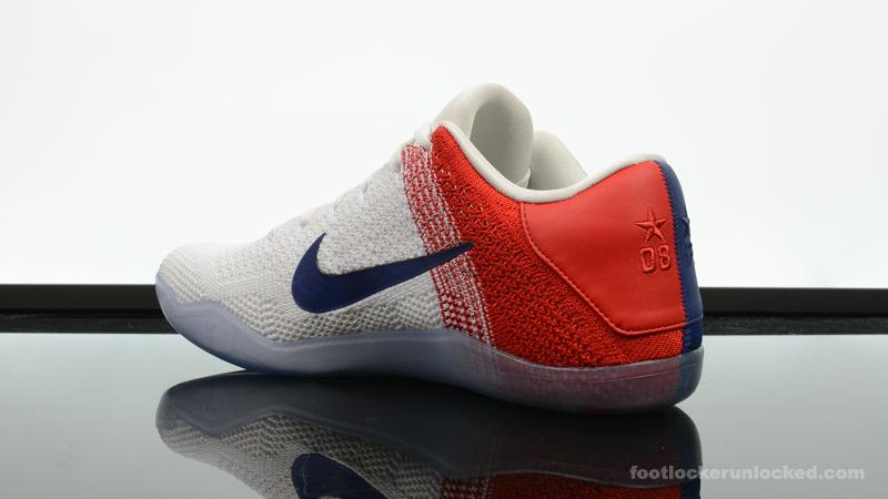 premium selection b4348 1fd3f ... Foot-Locker-Nike-Kobe-XI-Red-White-Blue- ...