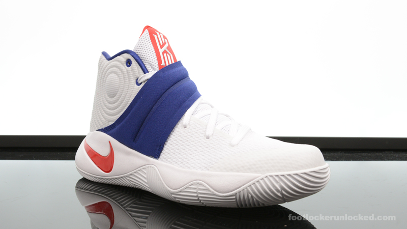 "low priced 8c098 33e76 Nike Kyrie 2 ""Red, White & Blue"" – Foot Locker Blog"