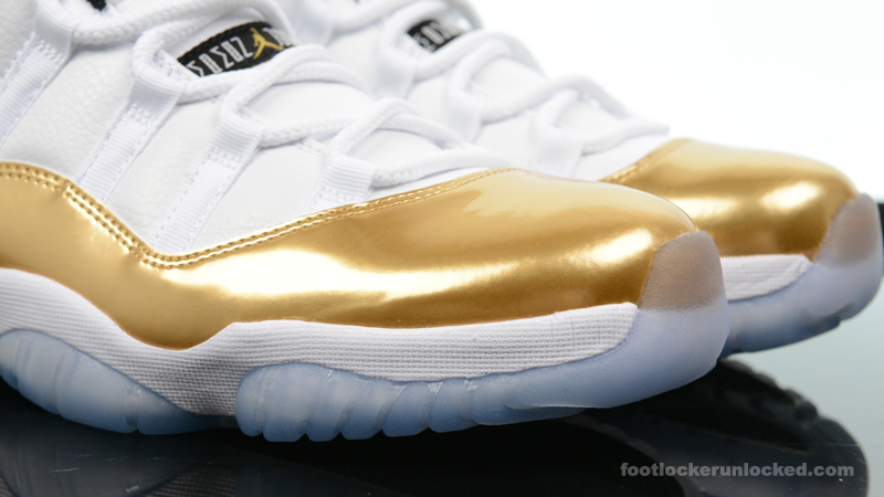 "finest selection 40144 c69ab Air Jordan 11 Retro Low ""Metallic Gold"" – Foot Locker Blog"