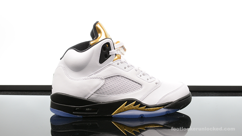 low priced 9cabb 4d232 Foot-Locker-Air-Jordan-5-Retro-Gold-Coin- ...