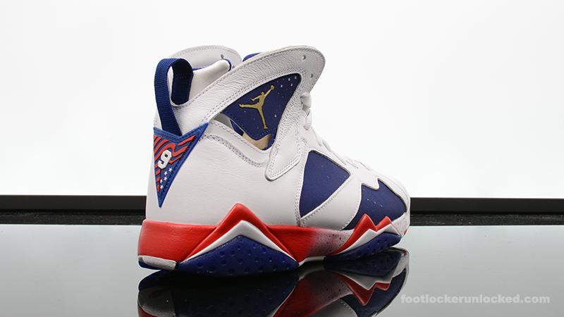 "Air Jordan 7 Retro ""Red, White \u0026 Blue"