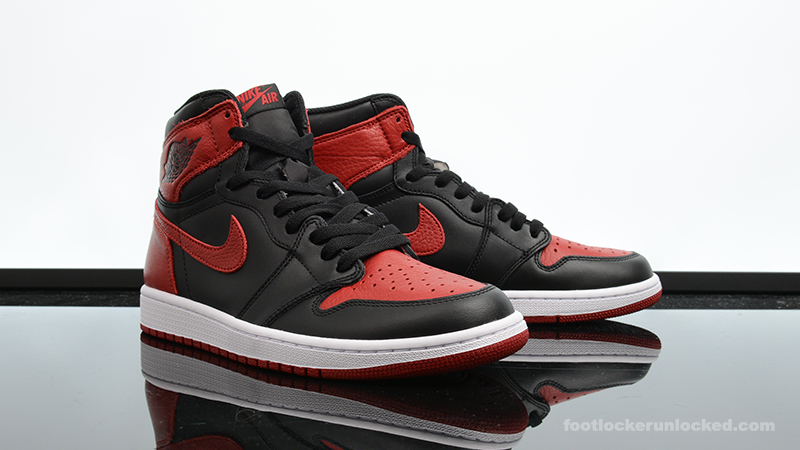 "lowest price cb9cf 5ee83 Air Jordan 1 Retro High ""Banned"""