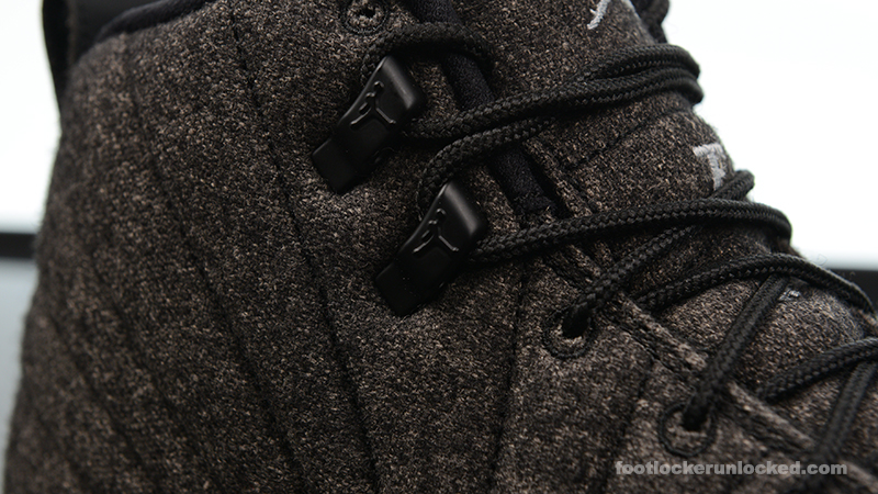 "Air Jordan 12 Retro ""Wool"" – Foot"