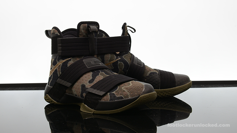 "e5c98b0f488f0 Nike Zoom LeBron Soldier 10 ""Camo"" – Foot Locker Blog"