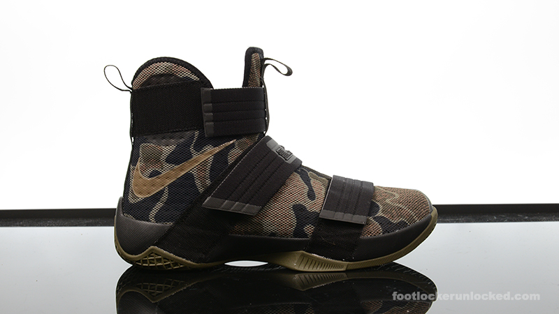 "size 40 ed975 0a883 Nike Zoom LeBron Soldier 10 ""Camo"" – Foot Locker Blog"