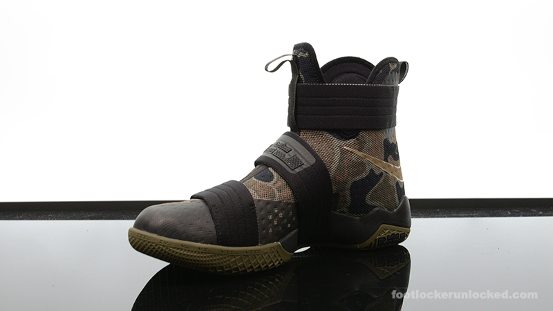 "8e86165da0e4 Nike Zoom LeBron Soldier 10 ""Camo"" – Foot Locker Blog"