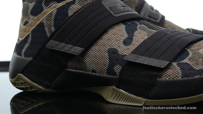 "size 40 66c1d eebd7 Nike Zoom LeBron Soldier 10 ""Camo"" – Foot Locker Blog"