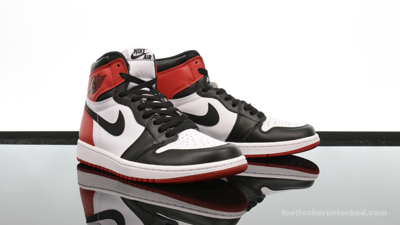 "d11e96a1bf5df1 Air Jordan 1 Retro High OG ""Black Toe"" – Foot Locker Blog"