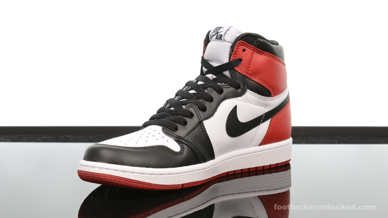 "a37385d2c96e Air Jordan 1 Retro High OG ""Black Toe"" – Foot Locker Blog"