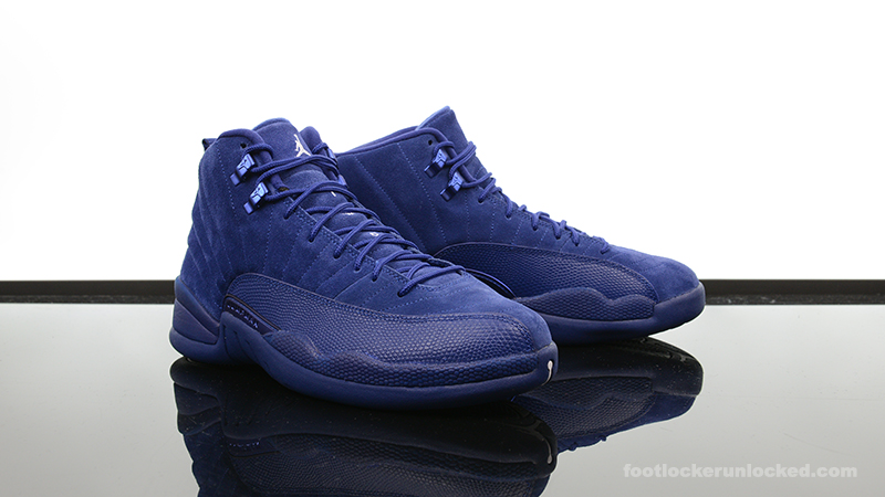 "uk availability 50dcf 96c37 Air Jordan 12 Retro ""Blue Suede"" – Foot Locker Blog"