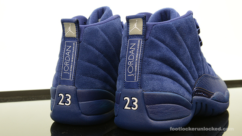 "uk availability c8563 6adab Air Jordan 12 Retro ""Blue Suede"" – Foot Locker Blog"