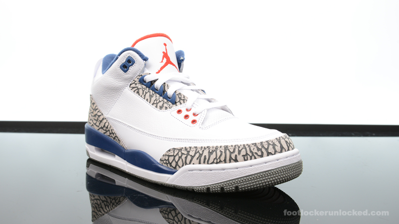"980213f0147f6d Air Jordan 3 Retro ""True Blue"" – Foot Locker Blog"