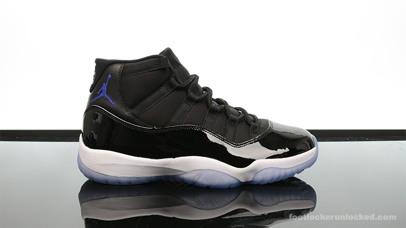 "c58b7b9fefaf Air Jordan 11 Retro ""Space Jam"" – Foot Locker Blog"